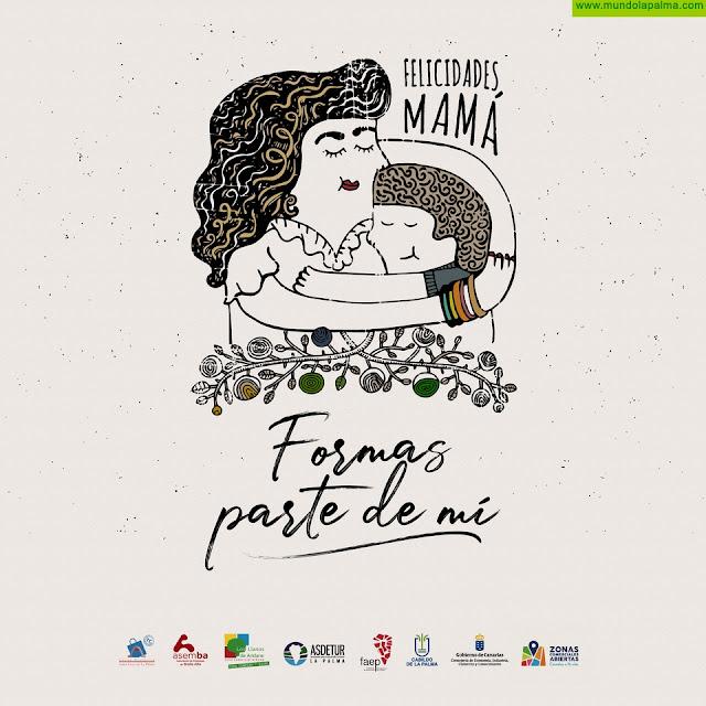 """Casco Histórico, ASEMBA y ZCA de Los Llanos de Aridane trabajan presentan la campaña del """"Día de la Madre"""""""