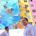 Entrega Evodio 6 murales en Infonavit Alta Progreso