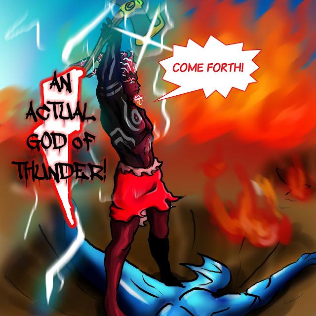 CHAPTER4: LIGHTNING GOD PG14