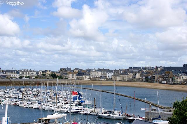 Baia de Bas Sablons in prossimità di Saint Malo