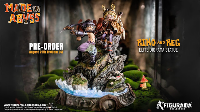 Figurama Collectors Made in Abyss Elite Diorama Statue