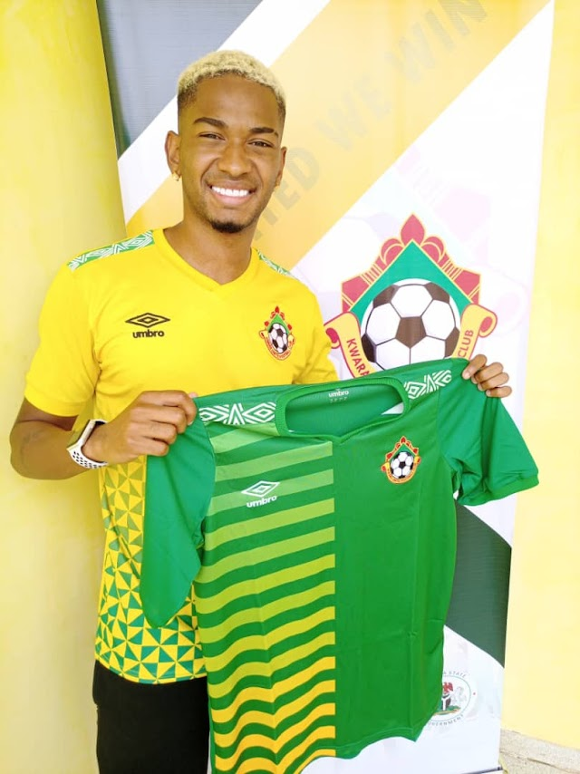 Brazillian winger Ribeiro Alves Lucas joins Kwara United of Ilorin on one-year deal