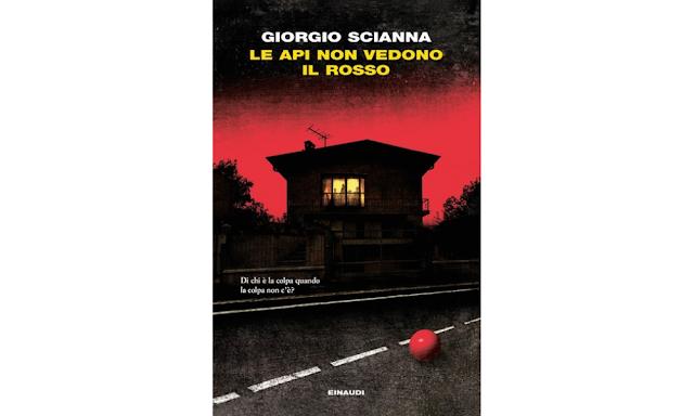 """Copertina di """"Le api non vedono il rosso"""" di Giorgio Scianna"""