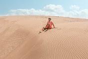 """Cantiknya Gurun Sahara Versi """"Gumuk Pasir Ujung Karang"""" Garut Selatan"""