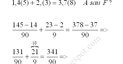 Compararea numerelor rationale exercitiu rezolvat 4