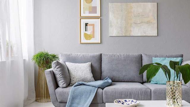 desain ruang keluarga alami