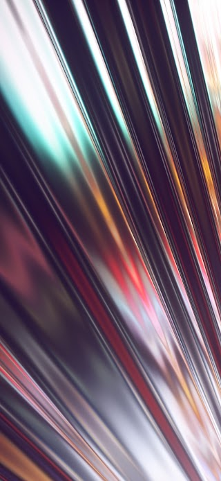 Cool abstract chromium glare wallpaper