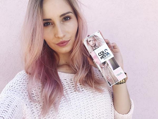 L'Oreal Colorista Soft Pink