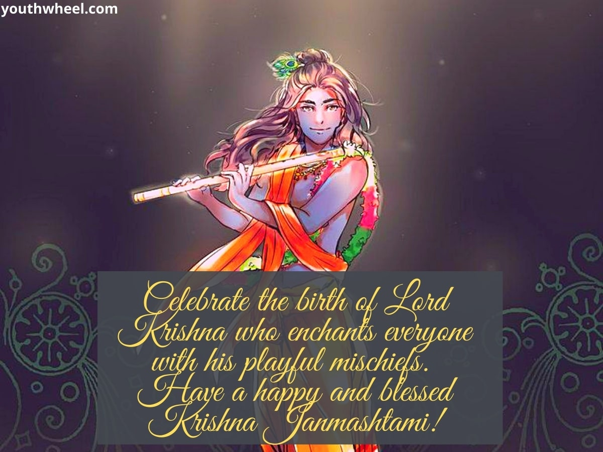 Krishna Janmashtami Wishes, Messages and HD Images