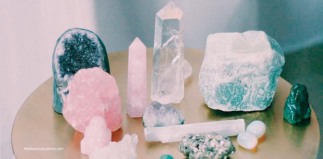 Lo mejores cristales para vibrar una energía positiva