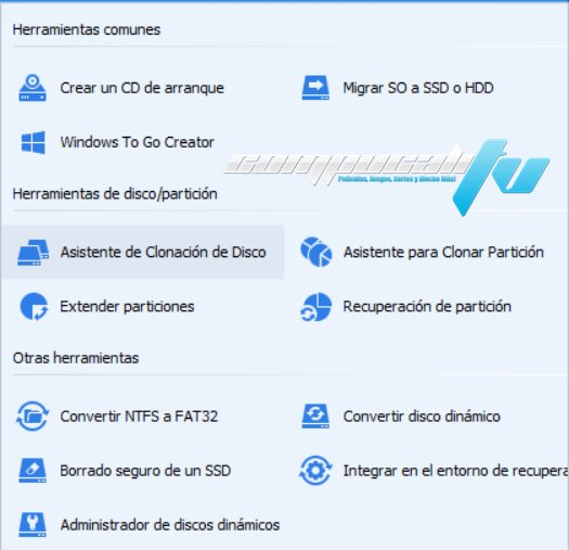 AOMEI Partition Assistant Technician Edition Versión 8.8.0 Full Español
