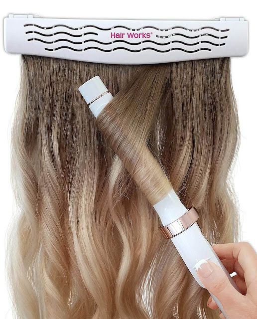 Hair works 4 in 1 hair extension caddy on amazon, By Barbies Beauty Bits