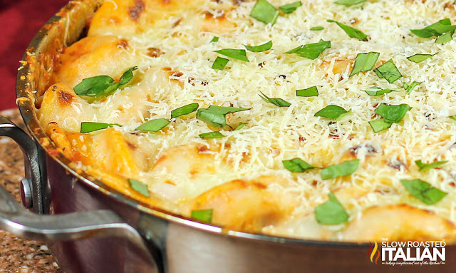 https://theslowroasteditalian-printablerecipe.blogspot.com/2017/09/ravioli-and-sausage-skillet.html