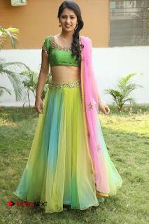 Actress Nikitha Bisht Stills in Lehenga Choli at Pochampally Ikat Art Mela Launch  0408.JPG