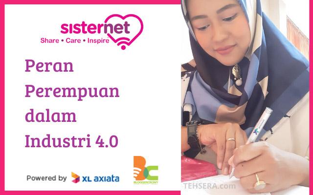 Peran Sisternet dalam mentoring perempuan preneur untuk industri digital 4.0