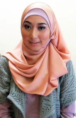 model hijab Igo Cantik dan cara memakainya model jilbab segi empat tutorial membuat