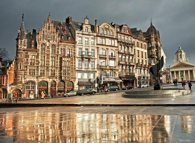Pontos turísticos em Bruxelas