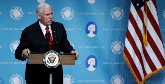 Vice President Pence Makes Bold Statement About The Future Of Abortion In The United States