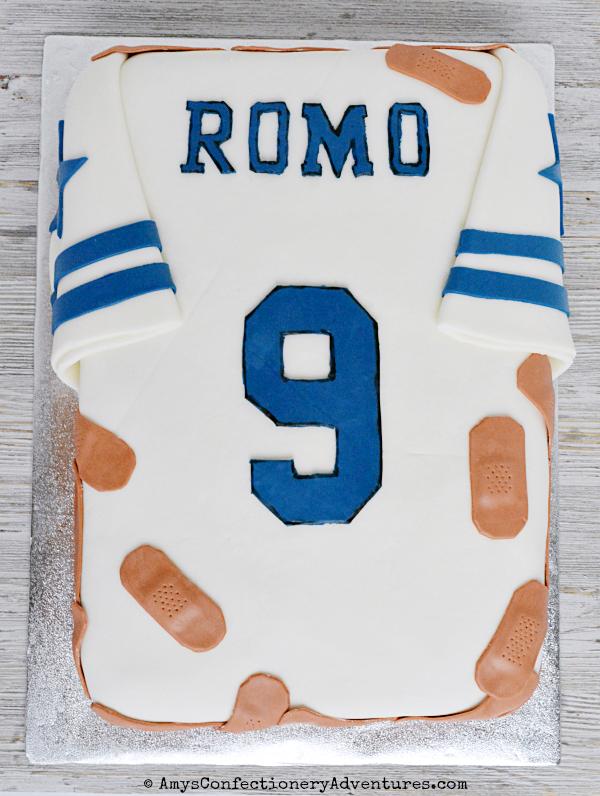 Amys Confectionery Adventures Dallas Cowboys Jersey Cake