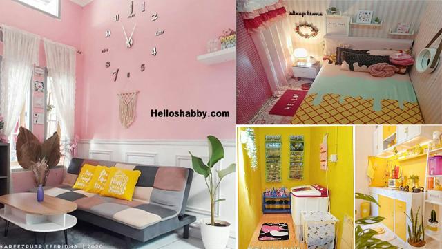 6 Desain Pink Kuning Cantik Nan Ceria Di Interior Rumah Minimalis Helloshabby Com Interior And Exterior Solutions