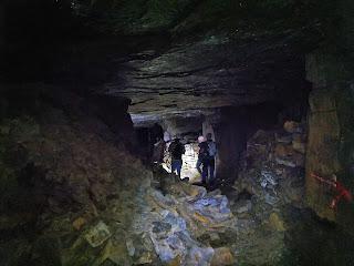 Mining in the UK Pinner Quarry Rossendale Lancashire