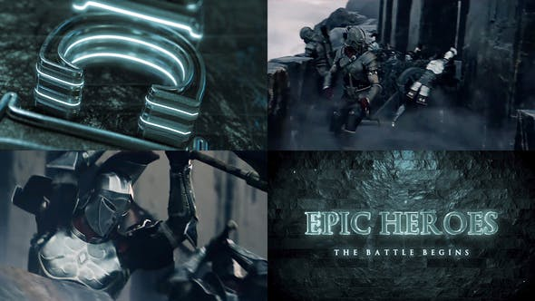 DARK EPIC METAL TRAILER TEMPLATE
