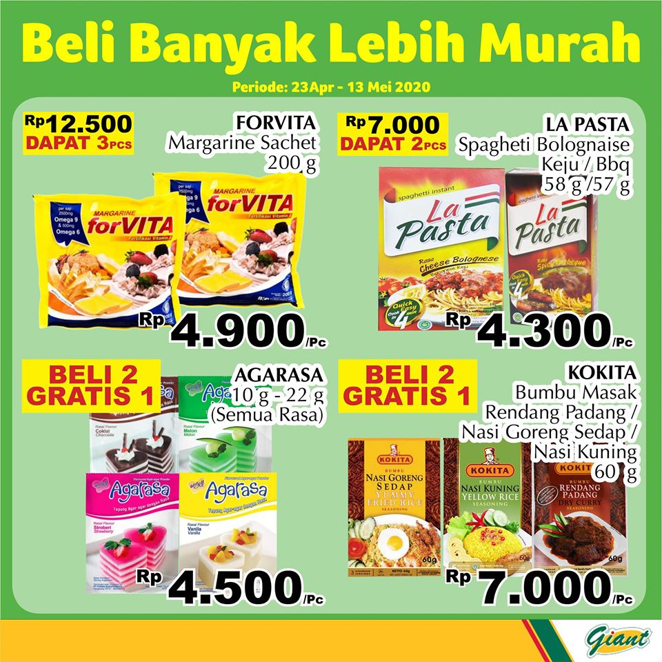 PROMO Giant Ramadhan Diskon Hemat Beli 2 Gratis 1