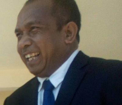 Adérito Hugo Apresia Komandu F-FDTL no PNTL