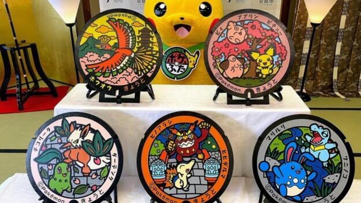 Pokemon manhole covers keep coming to Japan with awesome Ho-Oh designs and more