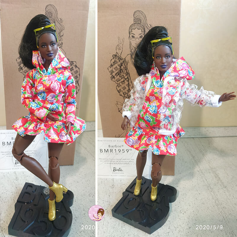 Black Barbie Signature MBR 1959 collection doll