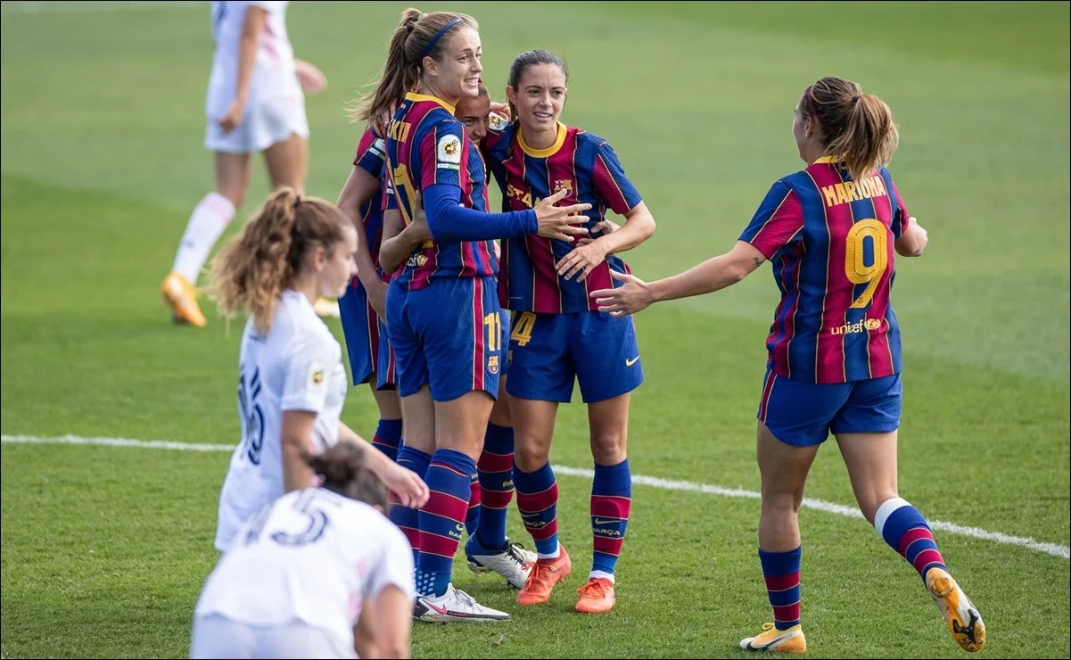 Real Madrid Barcelona femenino