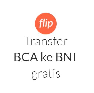 Flip Transfer Tanpa Biaya Admin