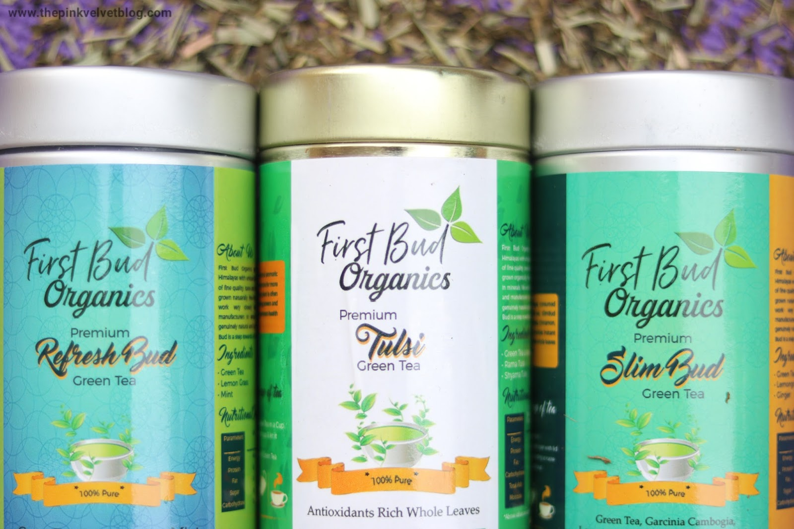 First Bud Organics Green Tea