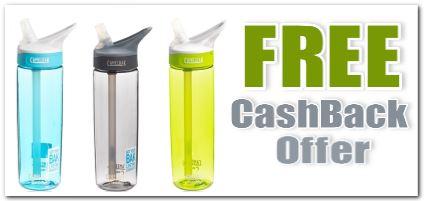 Camelbak Water Bottle Freebie