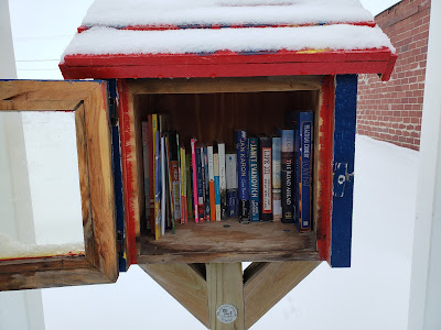 12 Ways to Spread Joy During the Holidays - Donate Books to Little Free Library