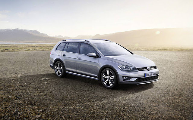 Novo VW Golf 2017 Alltrack