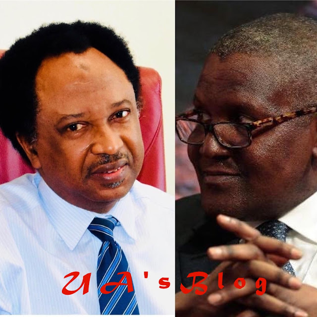 Shehu Sani to Dangote: Be careful with the 'Broom'