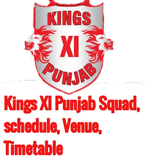 IPL 2020: Kings XI Punjab Squad (KXIP), schedule, venue