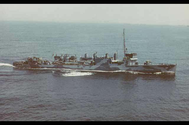 USS Roper, which sank U-85 off the North Carolina coast on 14 April 1942 worldwartwo.filminspector.com