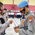 Propam Polda Sulbar Gelar Pemeriksaan Gaktibplin di Polres Majene