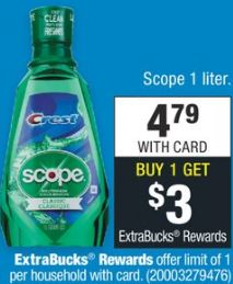 Money Maker Scope Mouthwash CVS Deal - 8/4-8/10