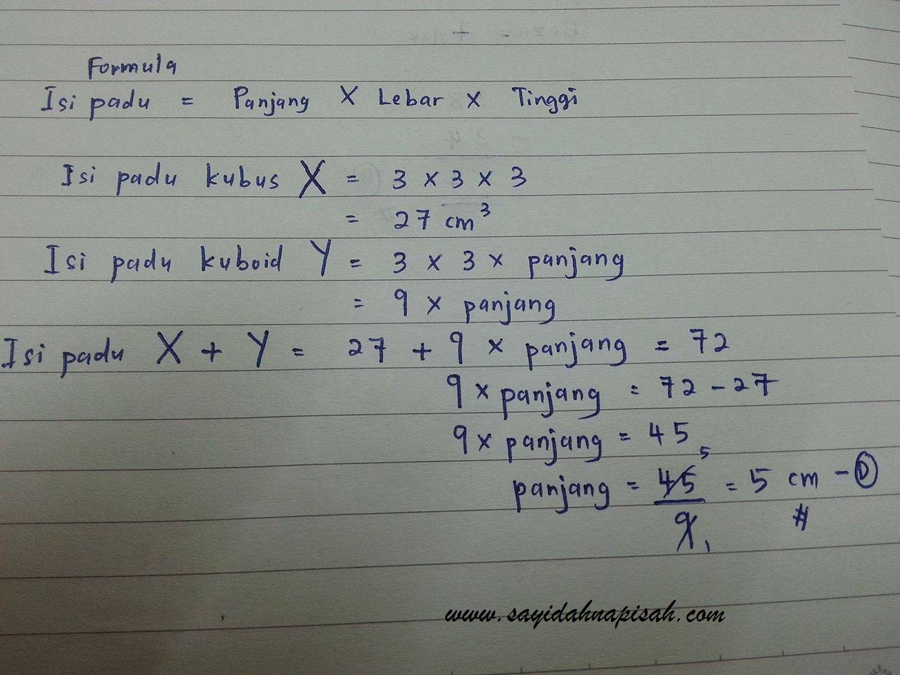 Soalan Mencabar KBAT Matematik UPSR