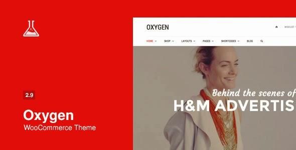Oxygen v2.9.1 WooCommerce WordPress Theme