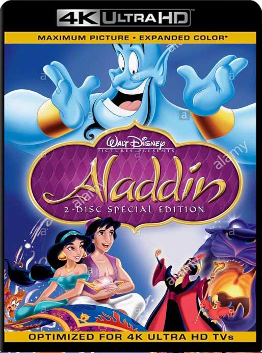 Aladdin (1992) 4K 2160p UHD [HDR] Latino [GoogleDrive]
