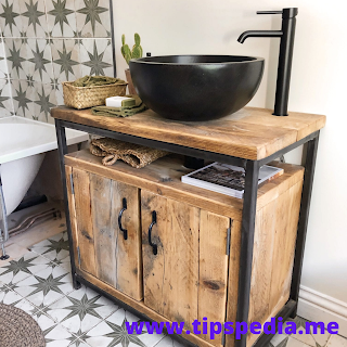 boho bathroom cabinet