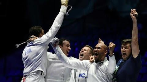 Vívó-vb - A franciák nyerték a férfi párbajtőrözők csapatversenyét