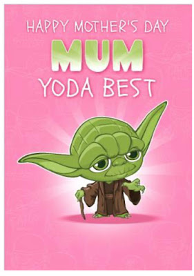 Yoda Mother's Day Card
