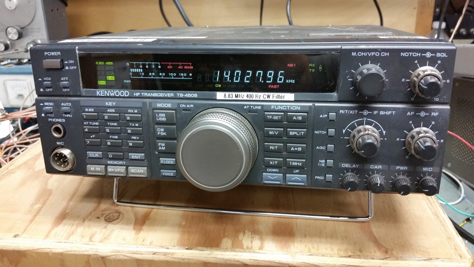 KA7OEI's blog: Fixing the squealing auto-tuner motors in the Kenwood