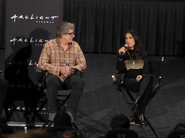 Salma Hayek Beatriz at Dinner director Q&A ArcLight Hollywood