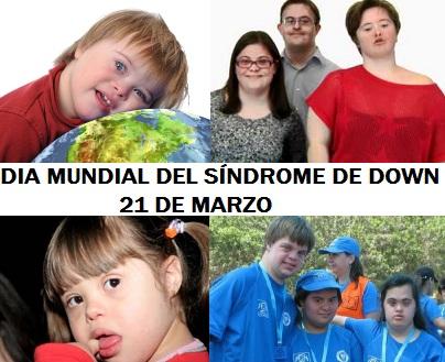 Imagen por el Día Mundial del Sindrome de Down a colores